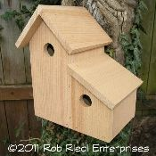 BOULDER birdhouse kit from The Birdhouse Depot.