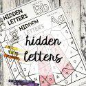 Hidden Letters - Playdough To Plato