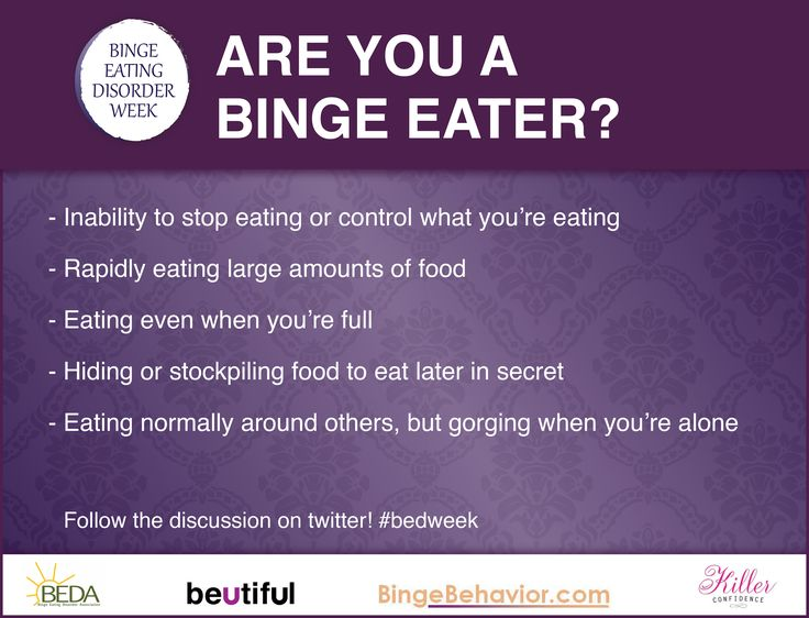 Binge Eating Disorder: Causes, Symptoms, Signs & Treatment Help