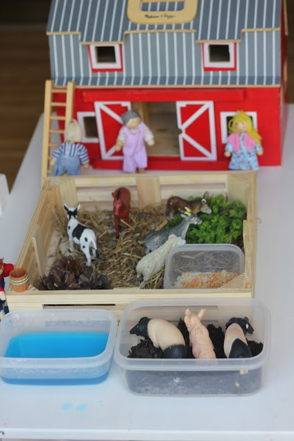 Farmyard Sensory Small World Play