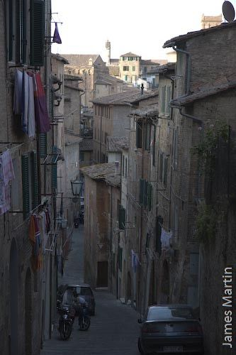 Siena Picture: A Street in Siena