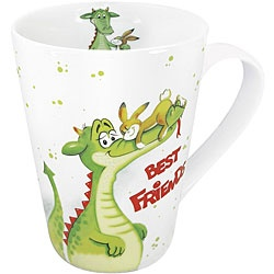 @Overstock - At Konitz, everything revolves around mugs. These 'best friends' mugs come in a set of four and feature a cute dragon and bunny on the exterior and interior of the mug.http://www.overstock.com/Home-Garden/Konitz-Best-Friends-Mugs-Set-of-4/5918920/product.html?CID=214117 $30.99