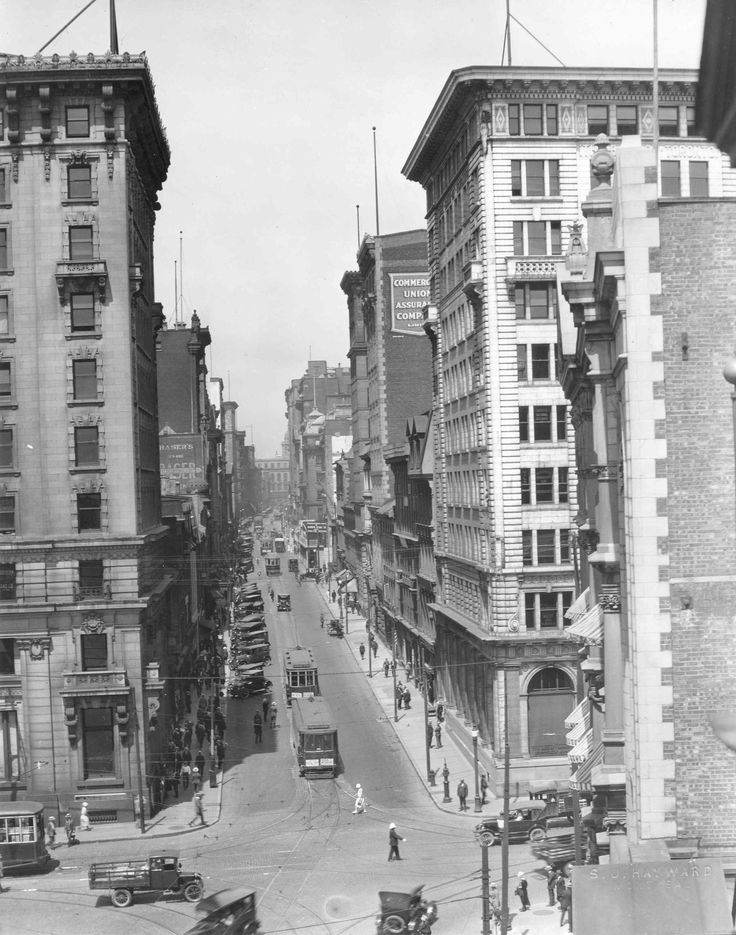 Rue St-Jacques ouest, années 1910