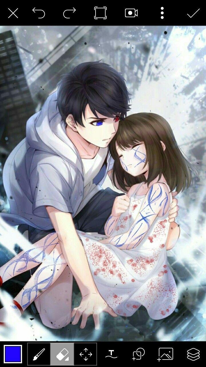 Pin by AmeliyDecor on casal desenho Anime love couple
