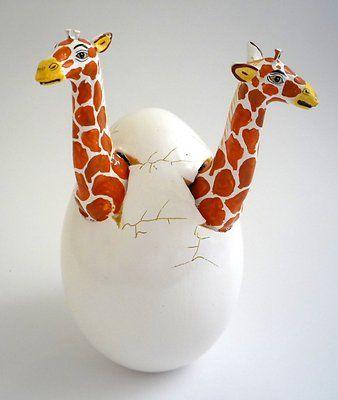 124 Best Images About Art Ceramic Giraffe On Pinterest