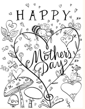 mother's day ecards printable quotes poems coupon books  coloring pages  mothers day