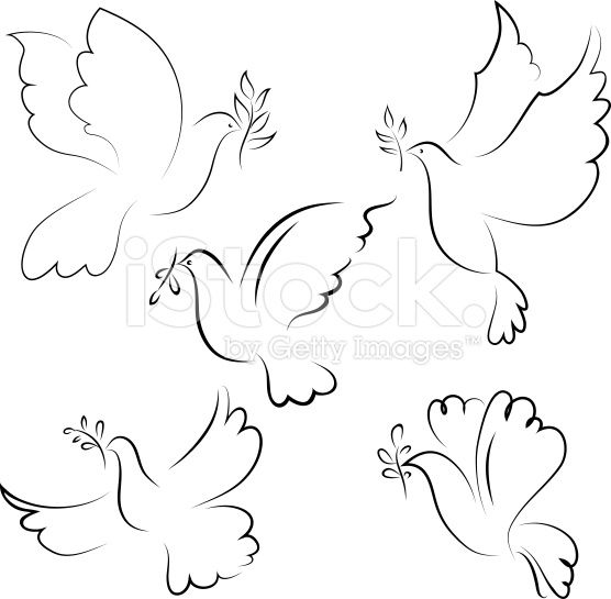 Dove royalty-free stock vector art