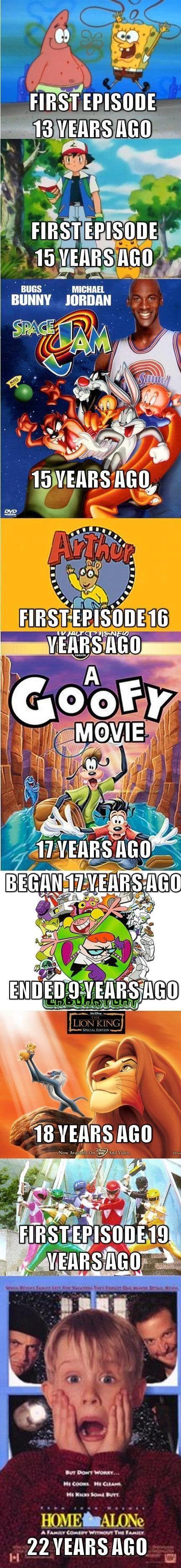 wow do I feel old!