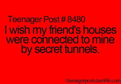 Oh my goodness me and best friend want to do this when we get our own houses. :D