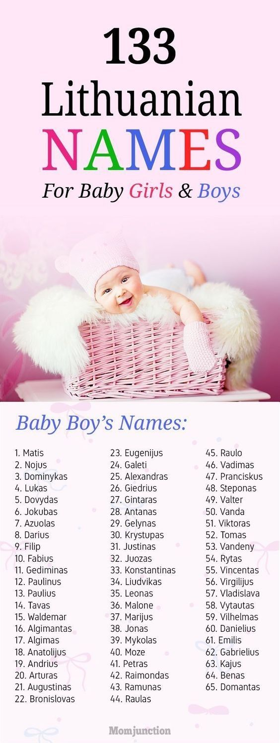 133 Amazing #Lithuanian #Baby #Names For Girls And Boys : Lithuania is a land rich in history and culture. Post the split with Russia, Lithuania came out in full bloom with its cultural mix.