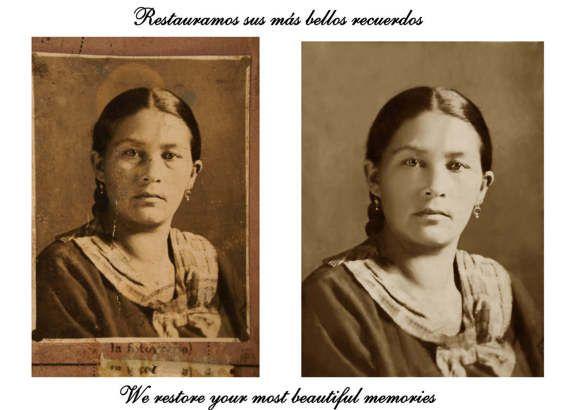 Regalo para Mujer, Regalo Día de la Madre, Fotografía Restaurada, Regalo Personalizado, Fotografía Vintage, Hecho a mano, Regalo Aniversario