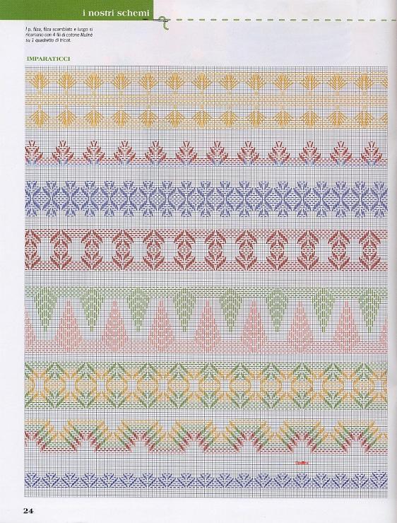 Swedish huck towel weaving patterns : Gallery.ru / Photo # 16 - VAGONITE - samlimeq