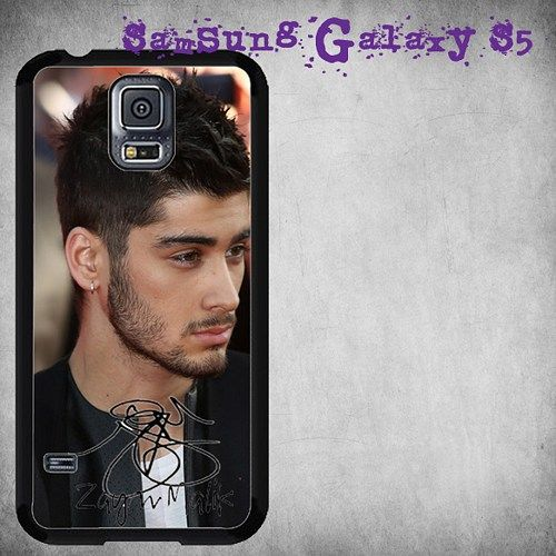Zayn Malik Signature Print On Hard Plastic For Samsung Galaxy S5 , Black Case  Description:  Create special case by using your favorite photos or thoughts to inspire and motivate you everyday. Also it