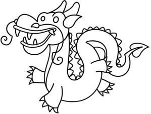 Too Cute Chinese Dragon_image