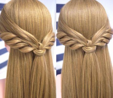 Peinados con media cola fácil y bonito DIY   Cuidar de tu belleza es facilisimo.com