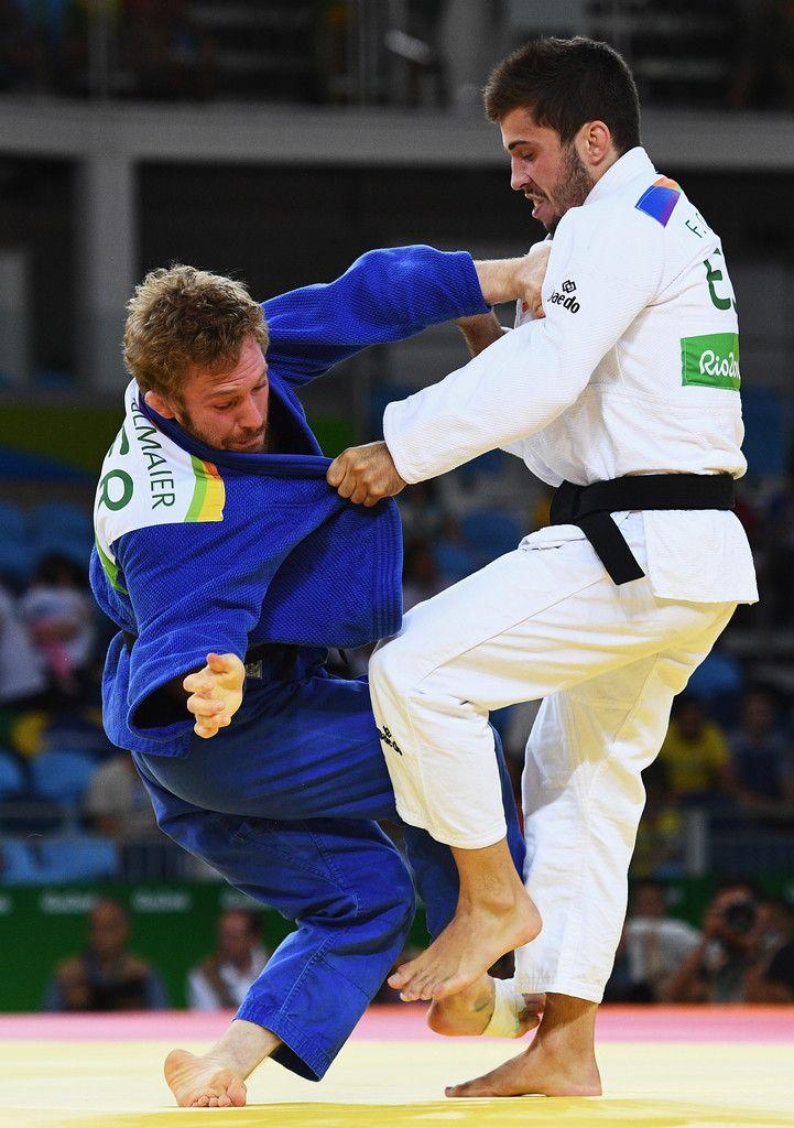 DAY 1:  Men's Judo - Tobias Englmaier of Germany vs Francisco Garrigos of Spain