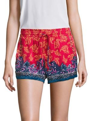 Free People San Paulo Embellished Shorts