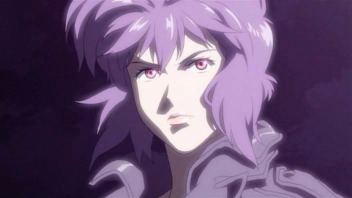 Major Kusanagi from GITS SAC