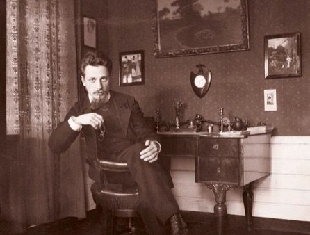 Lord, it is time. The summer was so great./Now lay your shadow across the sundials/And let the winds of the field run free.--Rainer Maria Rilke (The photo shows Rilke at the Worpswede arts colony c. 1901.) http://translations.diehoren.com/2016/06/one-autumn-in-paris-rilkes-herbsttag.html
