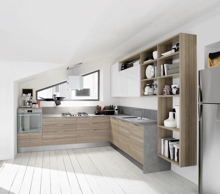 Cucine Moderne Piccole Cerca Con Google Cucina Pinterest Hidden Kitchen Sliding Door