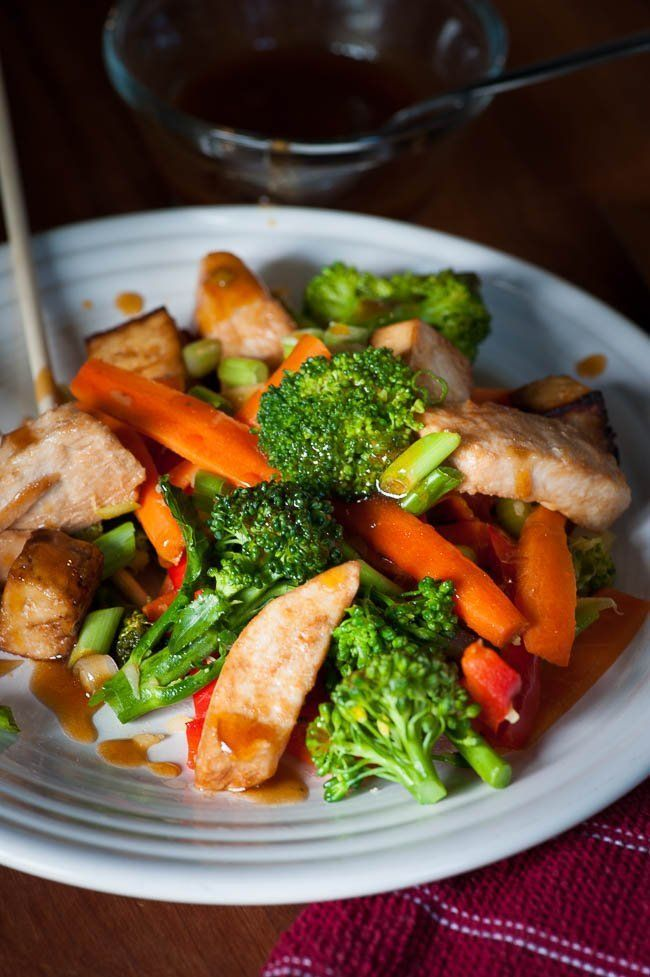Vegetable Stir Fry With Tofu And Chicken Recipe In 2020 Vegetables Vegetable Stir Fry Tofu Stir Fry