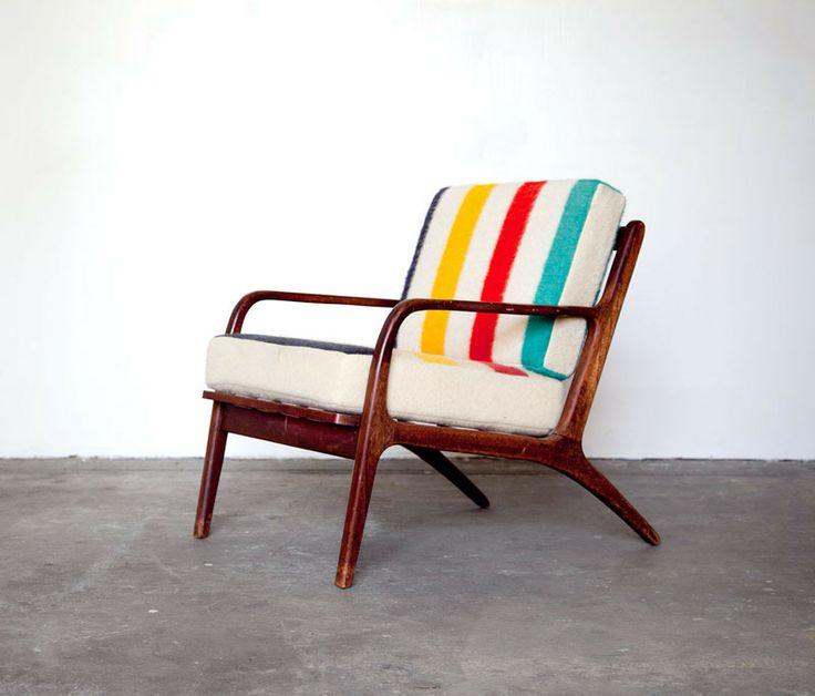Hudson Bay Mid Century Chair