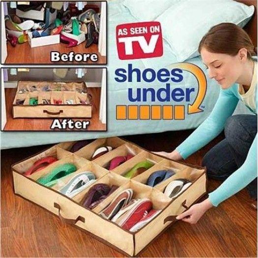 Shoes Under 12li Ayakkabı Saklama Çantası