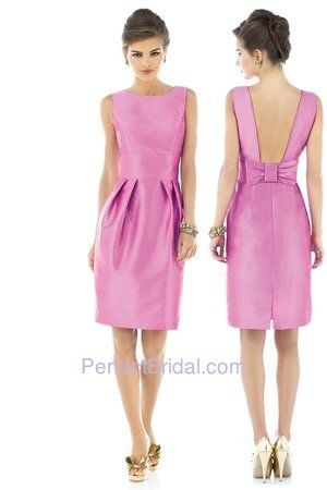 Alfred Sung Bridesmaid Dress D522. Visit perfect-bridesmaid-dresses.com for more info