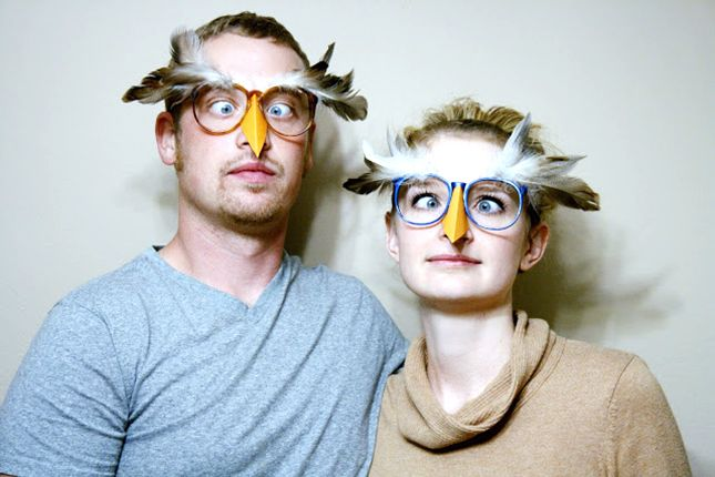 DIY these owl glasses for Halloween.