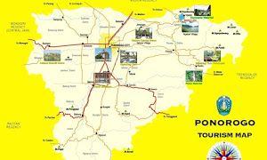 Ponorogo Tourism Map