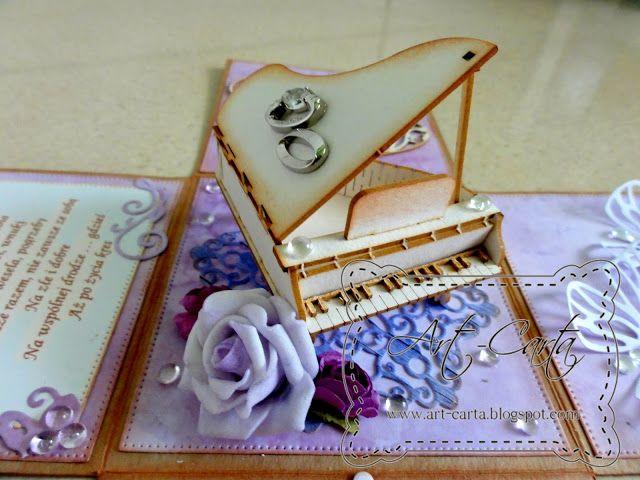 Art-Carta : Fortepian na ślub