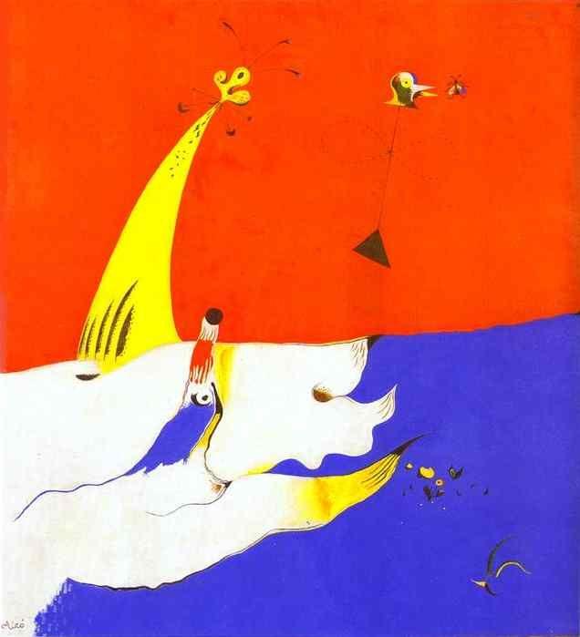 Landscape, 1924 - Joan Miro - 1200artists.com