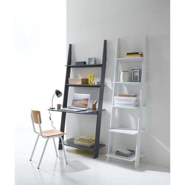 21 best ladder bookcase with desk images on pinterest ladder bookcase stairways and book shelves. Black Bedroom Furniture Sets. Home Design Ideas