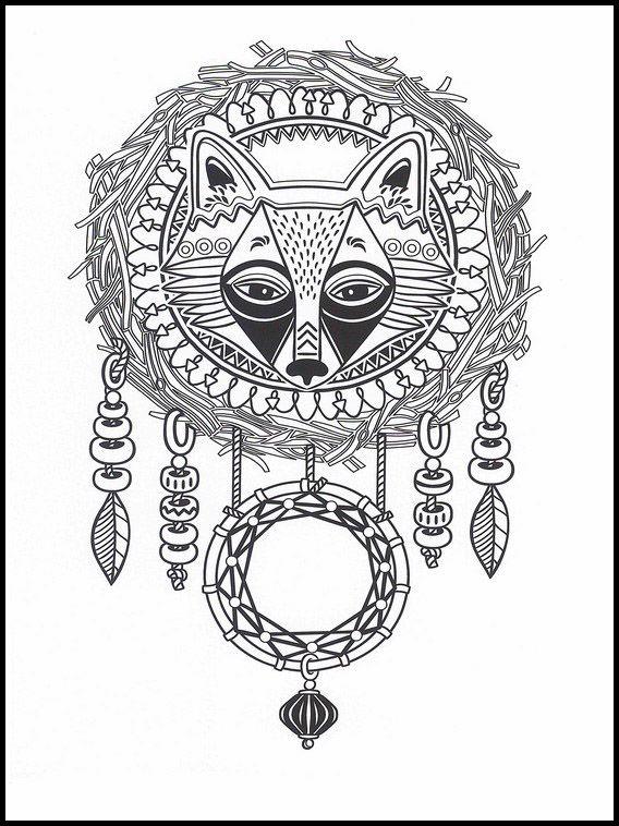 indianer ausmalbilder zum ausdrucken  amorphi