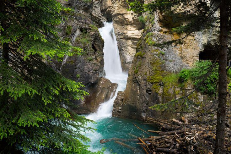 Waterfalls, Johnston Canyon, Banff National Park, Alberta, Canada