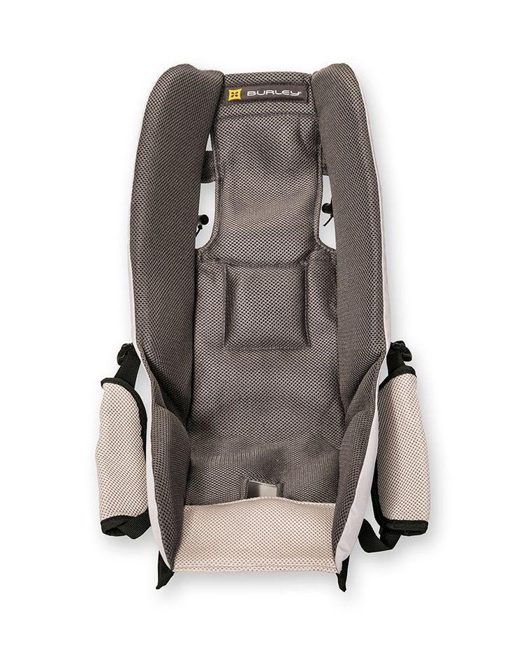 Burley Fahrrad-Kindersitz Baby Insert, grey, 50.8 x 20.3 x 12.7 cm, 960058: Amazon.de: Sport & Freizeit 70€