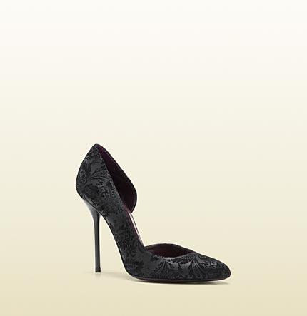 Gucci - noah high heel cutout pump 284145AR5001000