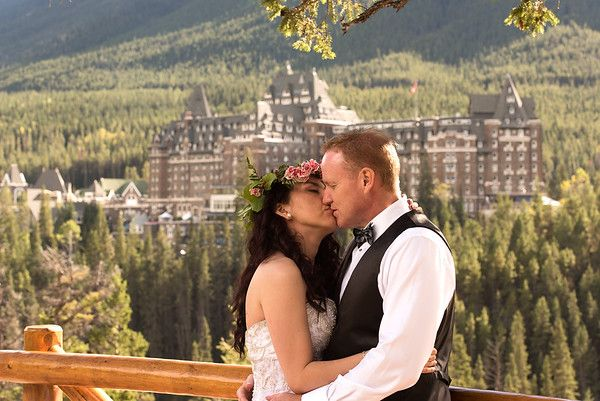 Beautiful wedding in Banff