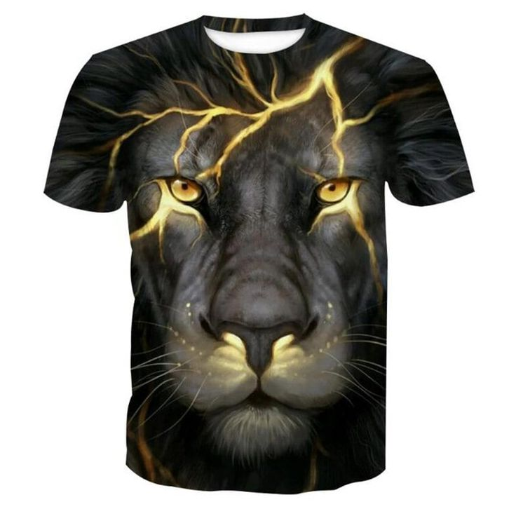 Mens Animal Face T Shirt Black Panther Heavy Rock Novelty Birthday Gift Ideas