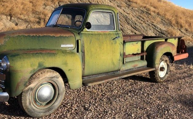1949 Chevrolet 3800 Five Window Project Muscle Cars For Sale Chevrolet Classic Trucks For Sale