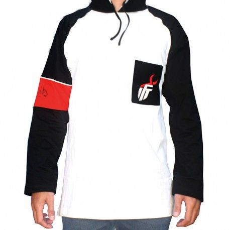 "Hoodie Mancing IFT ""BIG GAME (WHITE)"""