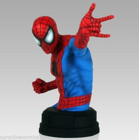 Spider-Man Mini Bust 892/1200 Gentle Giant Marvel NEW SEALED