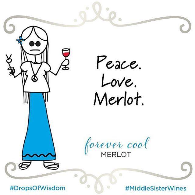 Happy International Merlot Day! #middlesisterwine #wine #merlot #internationalmerlotday