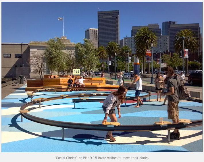 Exploratorium Pop Up Plaza