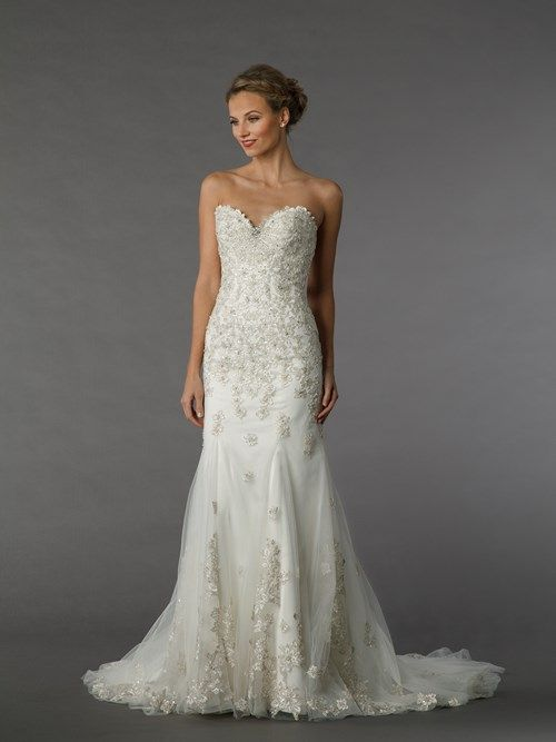 KleinfeldBridal.com: Dennis Basso: Bridal Gown: 33035536: A-Line: Natural Waist