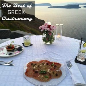 The best of Greek gastronomy: Greece, a country able to provide a truly unforgettable holiday, combining succulent gastronomy with sensational landscapes.
