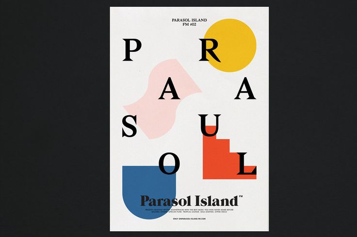 Parasol Island FM on Behance