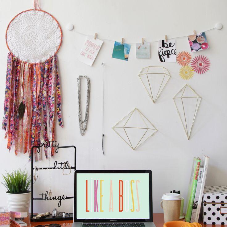 Prisma Wall Decor - Desk - Organization
