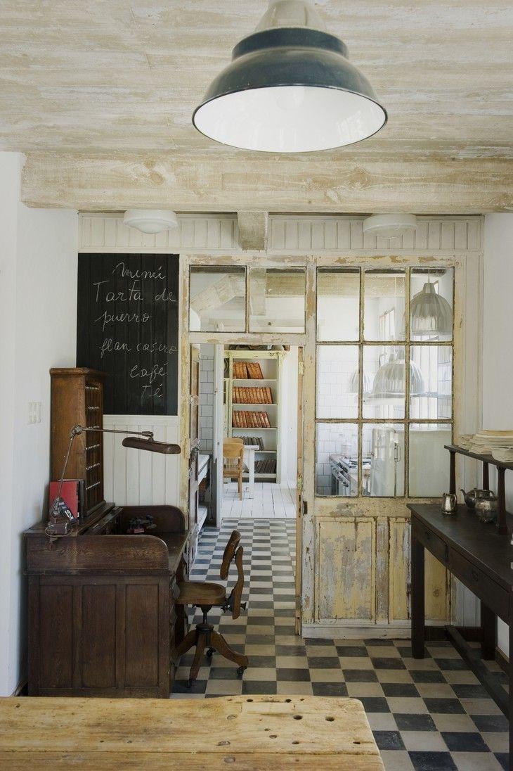 Casa Zinc in Uruguay Kitchen Foyer