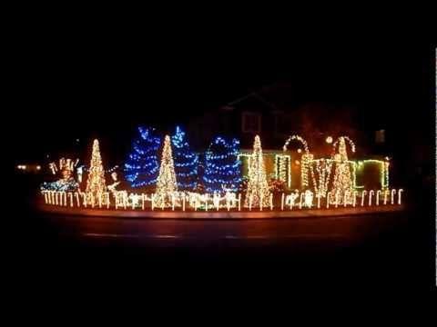 Cadger Dubstep Christmas Lights House 2012 - Bangarang and Cinema Mix by Skrillex